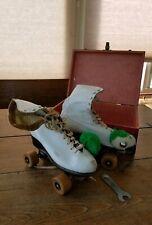 Vintage Chicago Women's Roller Skates In Original Box, Size 7