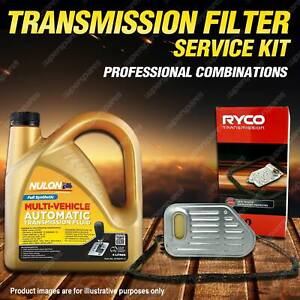 Ryco Transmission Filter + Full Synthetic Oil Kit for Audi A4 B8 2.0TDi 3.0 3.2
