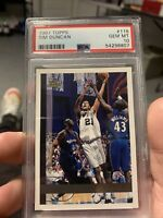 1997 TOPPS TIM DUNCAN #115 PSA 10 GEM MINT ROOKIE CARD