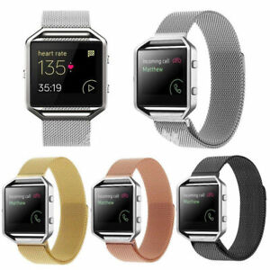 █  Milanese Magnetic Loop Stainless Steel Band Strap For Fitbit Blaze Bracelet █