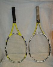 Two Dunlop 5 Hundred Aerogel No. 3_4 3/8 Tennis Raquets