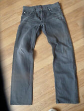 mens grey HUGO BOSS jeans - size 32/32 great condition