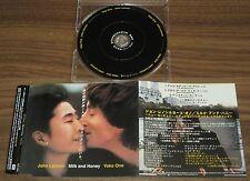 JOHN LENNON Japan PROMO ONLY 4 track CD official THE BEATLES Milk & Honey MORE!