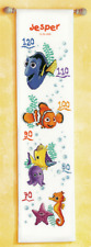 Disney Finding Nemo Height Chart Counted Cross Stitch Kit