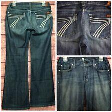 7 Seven for All Mankind DOJO Womens Denim Jeans Flare Size 28x30