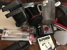 Opemus 6 Darkroom Photography Equipment, Rodenstock lens, Developing Supplies
