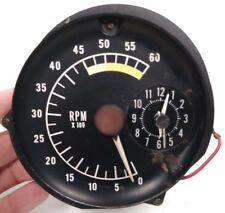1976 1977 1978 Pontiac Firebird Tick Tock Tach Tachometer with clock