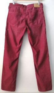 TRUE RELIGION Mens corduroy trousers, stretchy, size 33 x 34