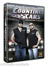 COUNTING CARS COMPLETE SEASON 1 2 3 DOCUMENTARIES COLLECTION BOXSET NEW 8 DVD R4