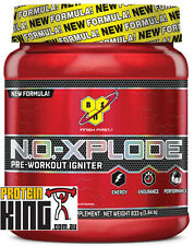BSN NO XPLODE 833G BLUE RAZ PRE WORKOUT IGNITER ENERGY NOXPLODE 3.0 C4 1MR