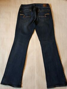 American Eagle Outfitters womens vintage flare leg jeans size 8  kick boot
