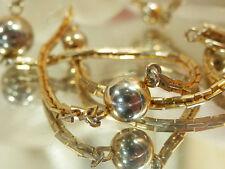 Pretty Mellow Gold Tone Vintage 70's Avon Modernist Necklace 567D5
