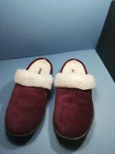 Ladies Sorel Nakiska Slide II Rich Wine Slippers size uk 5 eur 38 new