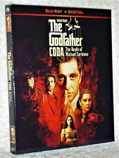 The Godfather Coda The Death Of Michael Corleone (Blu-ray, 2020) NEW Al Pacino