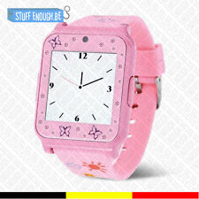 Originele W90 Smartwatch Montre Connecté Bluetooth Internet Android iOS Pink
