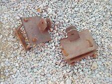 Farmall H SH Super M SM MTA 400 350 460 Tractor 2) loader axle brackets