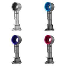 Handheld Mini USB Rechargeable fan Portable Cable Cooling No Leaf desktop 360D
