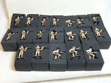 19 De Agostini WW1 Soldiers. Lancashire Fusiliers, Light Horse Infantryman, Turk