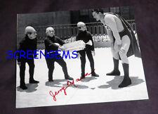 Superman TV signed photo midget Jerry Maren Moleman George Reeves classic RARE