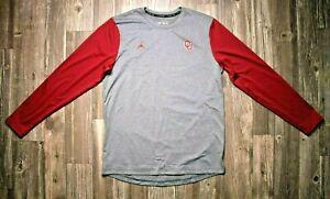Air Jordan Oklahoma Sooners Dri-Fit Long Sleeve Shirt (CU3688-091)
