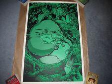 Joshua Budich Mei My Neighbor Totoro Variant Glow in the Dark Print