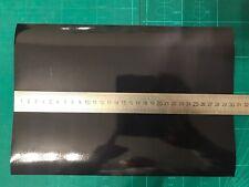 A4 Hoja De Negro Vinilo reflexivo Hi Viz 200 Mm x 300 mm