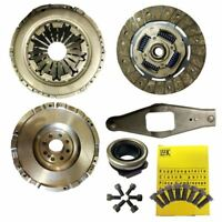 FLYWHEEL WITH CLUTCH KIT, LUK BOLTS  FOR A FORD TRANSIT BUS 2.4 DI RWD FD, FB
