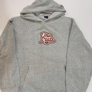 Ohio State Buckeyes Script Knitted embroidered sweatshirt made in USA - 2XL XXL