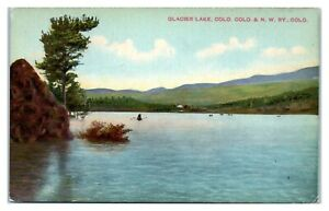 Early 1900s Glacier Lake, CO Postcard *258