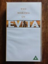 MADONNA The Making of EVITA VHS Video Cassette from 1997 Antonioa Banderas