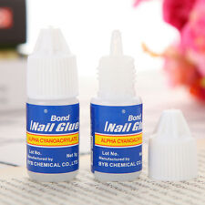 3g Glue ProfessionaL For Acrylic Nail Art Tips Beauty Decoration Tools New·