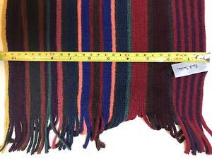Paul Smith Merino Wool Scarf NWT