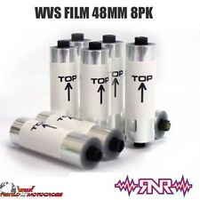 Rip N Roll Off Film for RNR Colossus WVS XXL 48mm Motocross MX Enduro Goggles x8