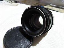 Helios 44-2  2/58 Russian lens & front cap M42  mount SLR Zenit camera  7362
