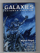 ► GALAXIES N°25 - SCIENCE FICTION - PRINTEMPS  2002 - MICHEL PAGEL