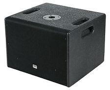 DAP  Subwoofer Bassbox DRX 10BA   600 Watt PA Box  Aktiv Subwoofer