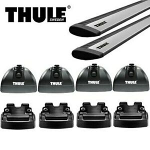 Thule ARB47 Roof - Roof Rack + 460R Footpack and Covers