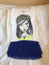JUSTICE GIRLS SIZE 12 SPARKLE GIRL SHORT DRESS - SUPER COOL STYLE