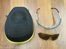SMITH OPTIC E-FORCE CYCLING SUNGLASSES WITH EXTRA LENSE AND BALISTIC CASE