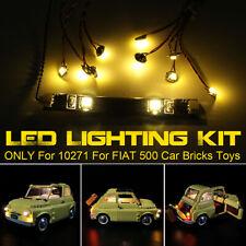 Led Light Lighting Kit fit For Lego 10271 For Fiat 500 Car Vehicle Bricks j
