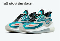 "Nike Air Max Zephyr ""Grey-Blue-Orange"" Men's Trainers Limited Stock All Sizes"