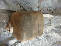 FIAT 124 SPIDER COOLANT OVERFLOW TANK RESEVOIR AND CAP