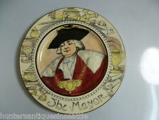 "Royal Doulton ""The Mayor"" Collector Plate D-6283 1930's"