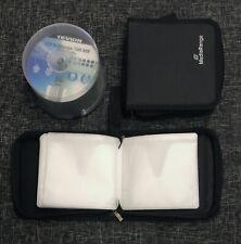 40 Stück CD-R Rohlinge 700MB 80min High Quality Pure Silver 52x + 2x CD-Mappen