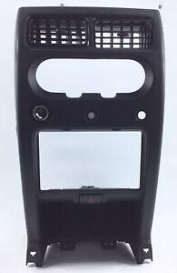 2002-2004 Nissan Xterra Center Radio Dash Bezel Heater AC Vents Black 02-04 OEM