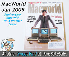 MacWorld Jan 2009 25th Anniversary Issue w/ Steve Jobs Orig 1984 Cover RARE HTF