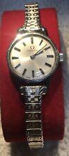 Omega Ladies 511.0451 625 Vintage Watch Stainless Steel  w/ Speidel GF band
