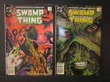 Swamp Thing Sophisticated Suspense, DC comics,#48 May 1986,#49 June 1986,both VF