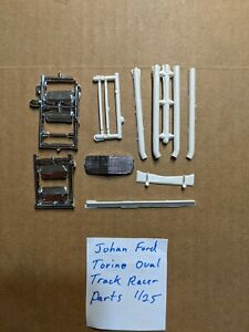 JOHAN FORD TORINO OVAL TRACK RACER PARTS NEW!!!! 1/25