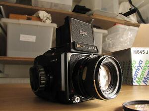 Mamiya 645J film camera